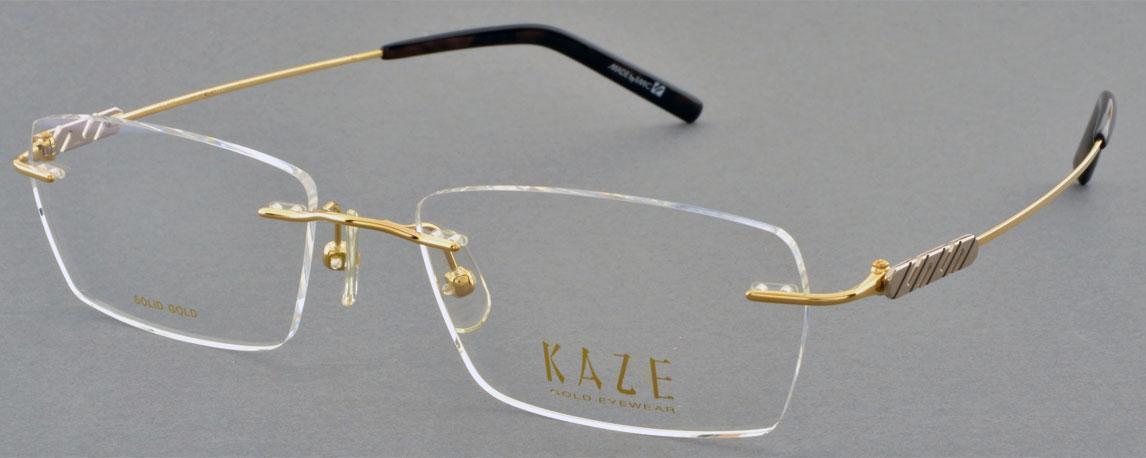 Gọng vàng đúc Kaze KZM 003