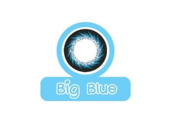 Áp tròng màu Maxim 3 tháng Big Blue