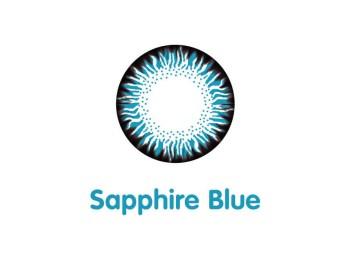 Áp tròng màu Maxim 1 ngày Sapphire Blue