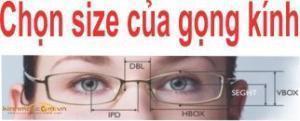 cách chọn size kính mắt