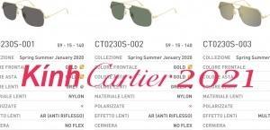 Kính Cartier 2021